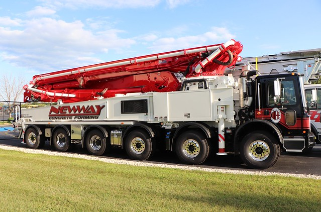 Newway Concrete Forming LTD Truck