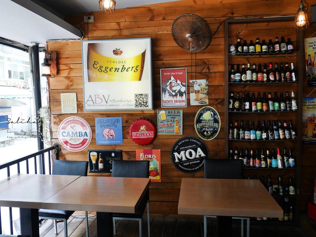 台北東區ABV Bar Kitchen 地中海餐酒館精釀啤酒餐廳國父紀念館站附近 (3)