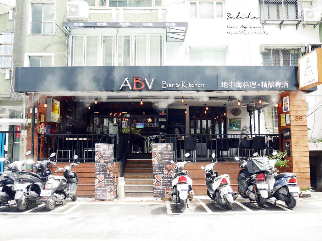 台北好吃特色早午餐廳推薦ABV Bar Kitchen 地中海餐酒館可久坐下午茶 (1)