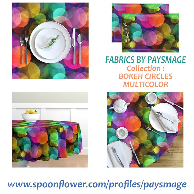 XL BOKEH TABLE CLOTH ITEMS BY PAYSMAGE