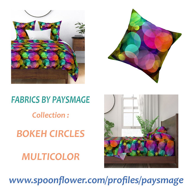 XL BOKEH BEDROOM ITEMS BY PAYSMAGE