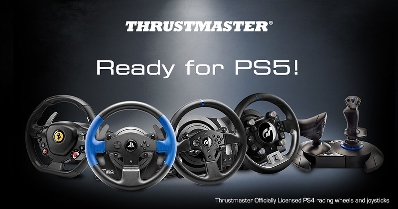 Thrustmaster PS5 Compatible