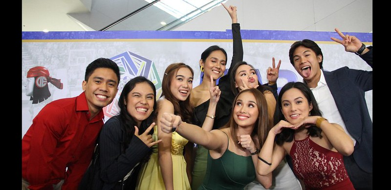 PHOTO 4 – Aspiring media practitioners learned and gained experience as courtside reporters of ABS-CBN Sports for leagues like the UAAP, NCAA, and PVL