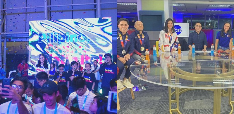 PHOTO 7 - The special coverage of the SEAG was one of the many efforts of ABS-CBN Sports to strengthen the bond in the sports community by engaging with more athletes so that fans are able to relate to them on another level