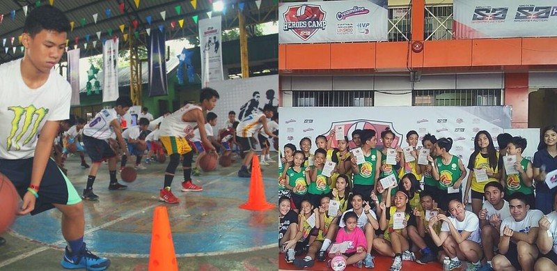 PHOTO 6 - Kids were able to learn basic drills and important values from basketball and volleyball stars with the sports clinics organized in different parts of the country by ABS-CBN Sports