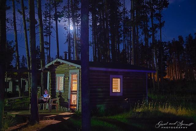 Cabin After Dark