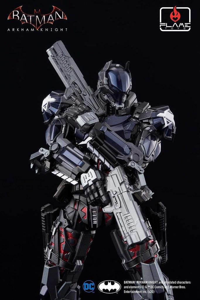 Flame Toys 人機巧「阿卡漢騎士」(Arkham Knight) 可動人偶 注入豐沛機械感的超帥設計!