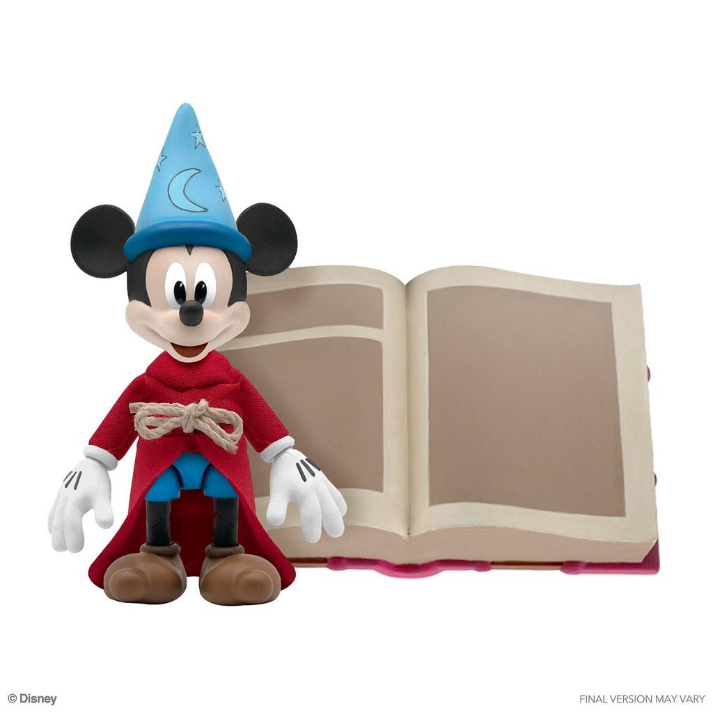 Super7《魔術師的學徒》米奇(Sorcerer's Apprentice Mickey Mouse)7 吋可動人偶 發表!