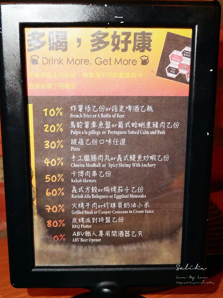 台北好吃異國料理推薦ABV Bar Kitchen地中海餐酒館精釀啤酒餐廳  (1)