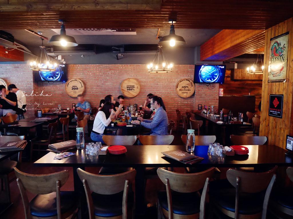 台北可久坐適合聊天早午餐下午茶推薦ABV Bar Kitchen地中海餐酒館精釀啤酒餐廳  (4)