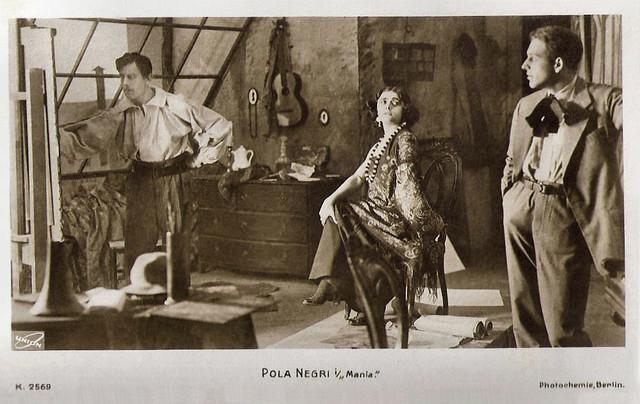 Pola Negri in Mania (1918)