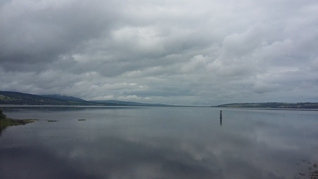 Cromarty Firth from Dingwall, July 2020
