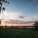 Sunset over Greifensee
