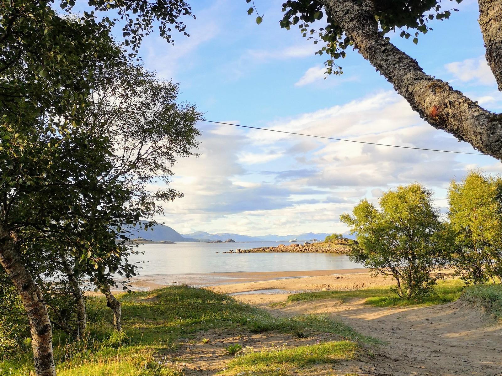 Hessand beach