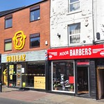 Grillaz and Noor Barbers on Friargate, Preston