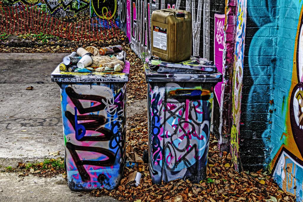 street art paraphernalia