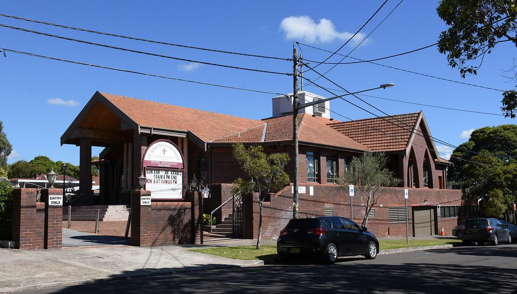 St Joseph's Maronite Catholic Church, Burwood, Sydney, NSW.