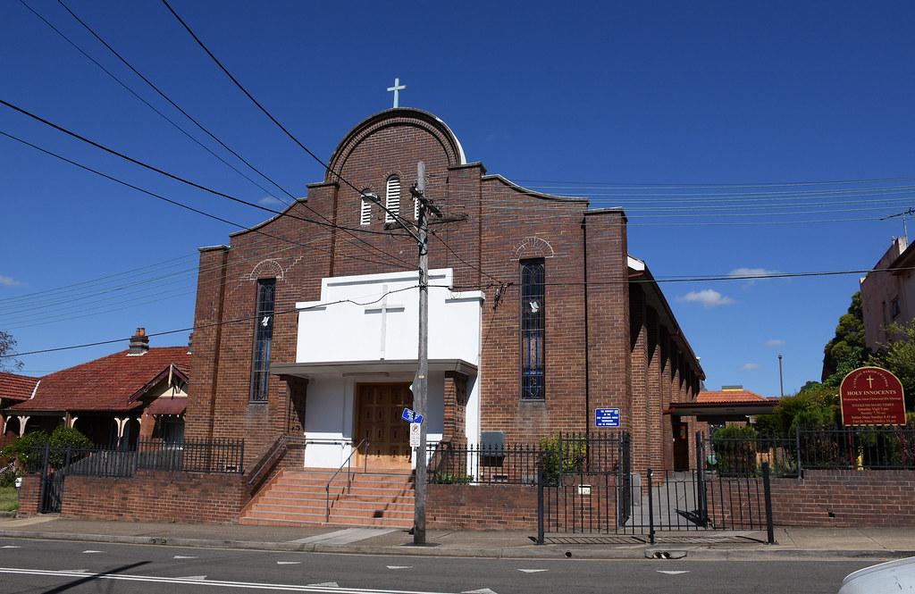 Holy Innocents Catholic Church, Croydon, Sydney, NSW.
