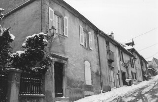 L'ancienne pharmacie, rue du château à Orgelet