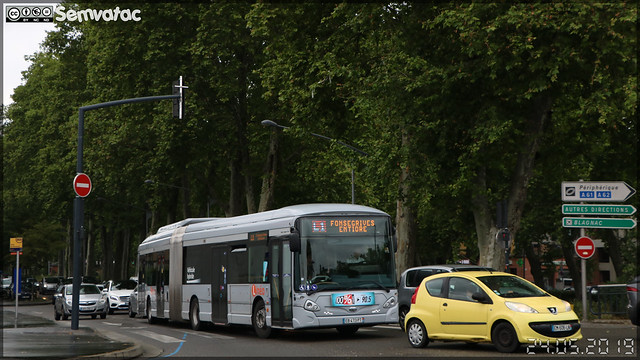 Heuliez Bus GX 437 hybride – Tisséo Voyageurs / Tisséo n°1661