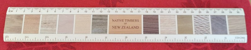 Native Timbers of New Zealand