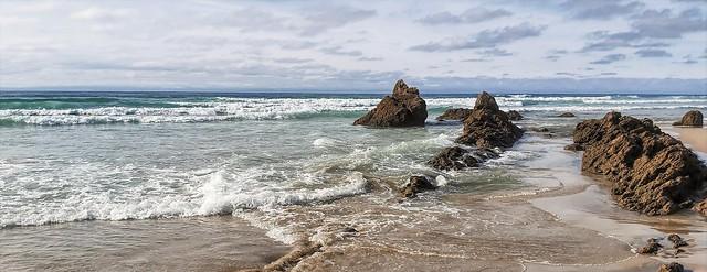 La paz de las olas.