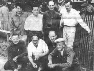 La quadrette chamionne du Jura en 1964