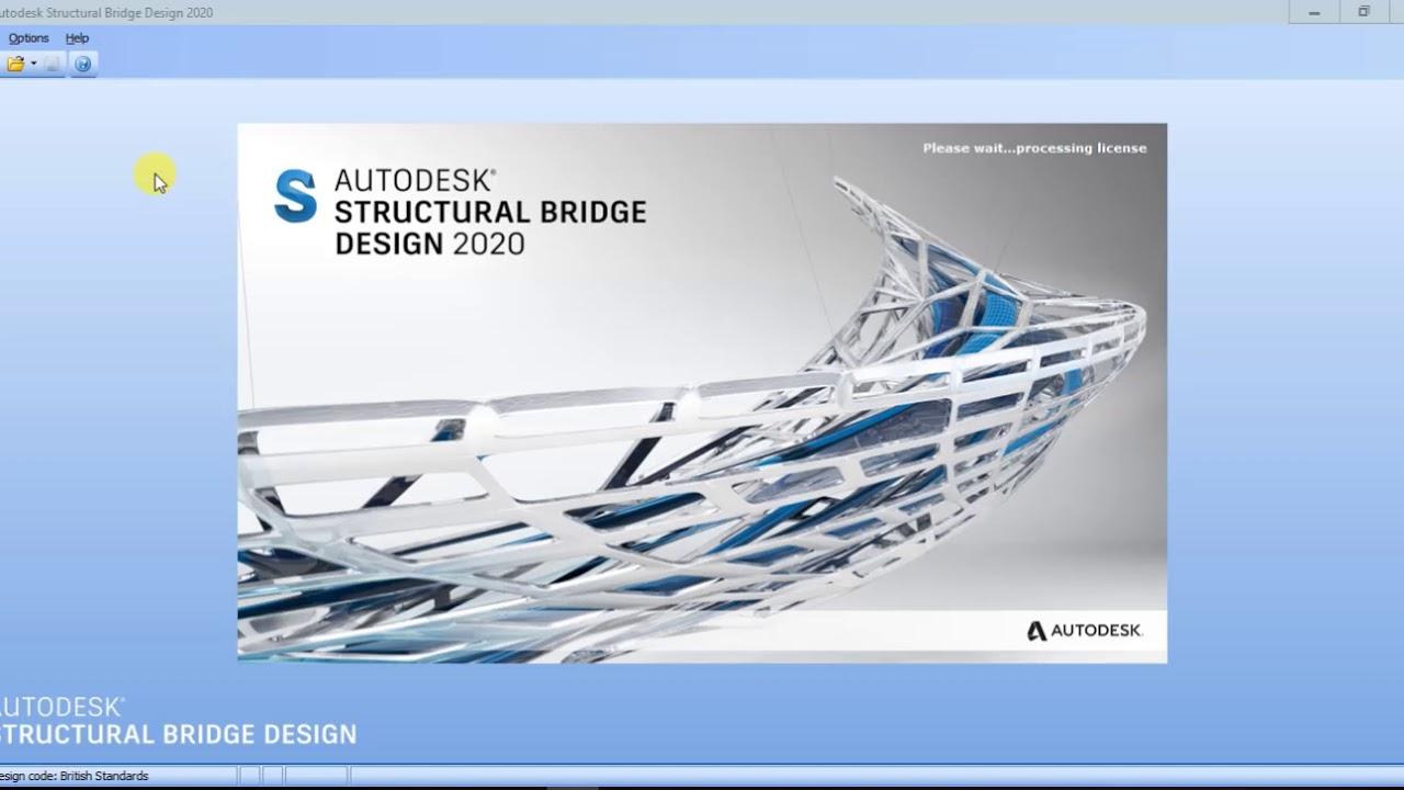 Autodesk Structural Bridge Design 2020 x86 x64 full