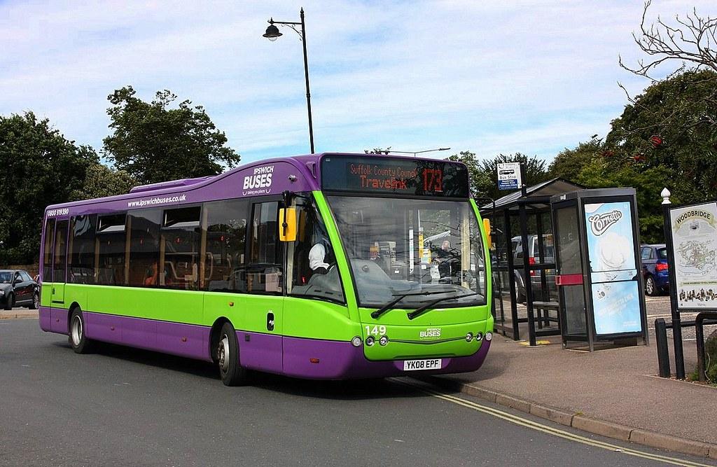 Ipswich Buses at Woodbridge