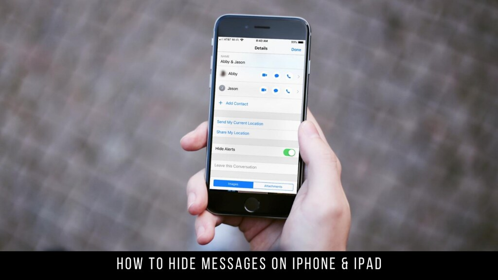 How to Hide Messages on iPhone & iPad