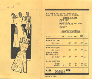 Marian Martin 1947 9226 apron