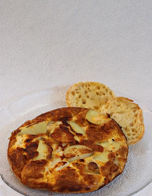 2020 Sydney: Chicken, Cheese & Potato Omelette