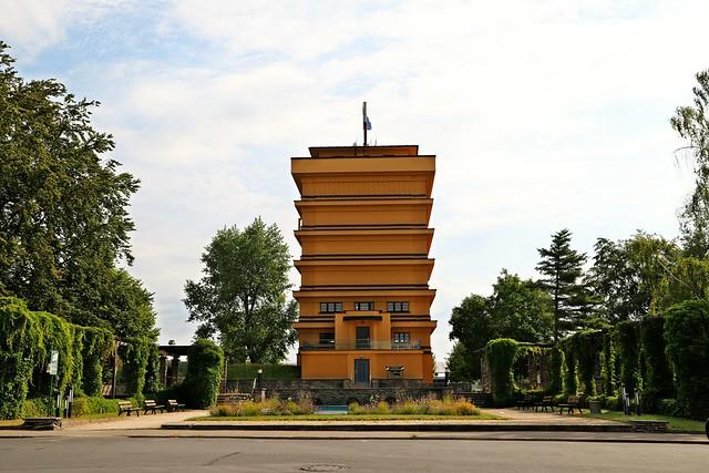 RC Wahrzeichen  Wasserturm Bauhaus Architektur