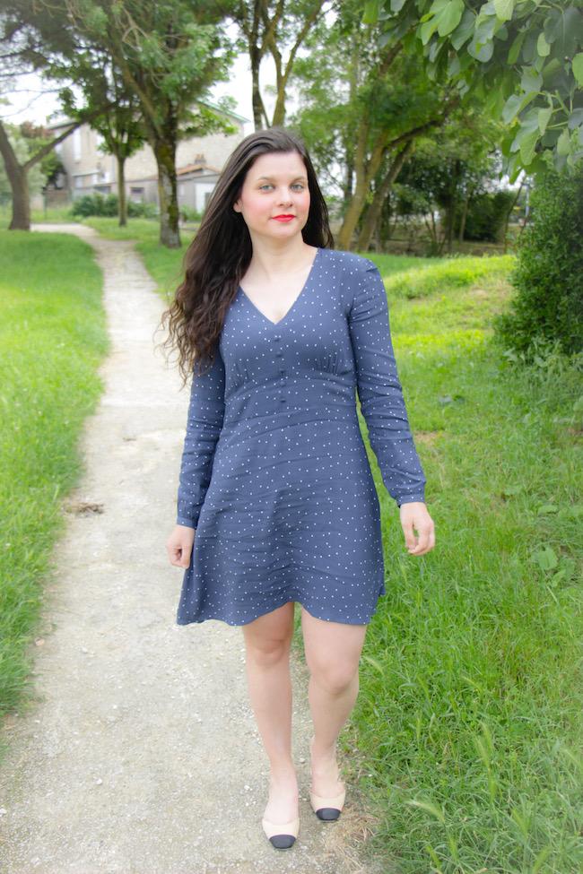 look-veste-blazer-petite-robe-bleue-blog-mode-la-rochelle-2