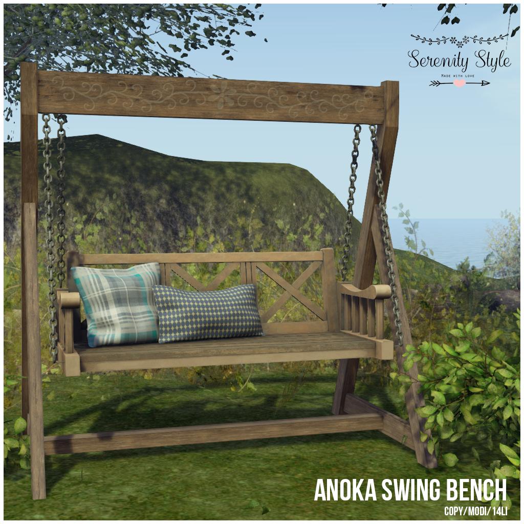 Serenity Style- Anoka Swing Bench