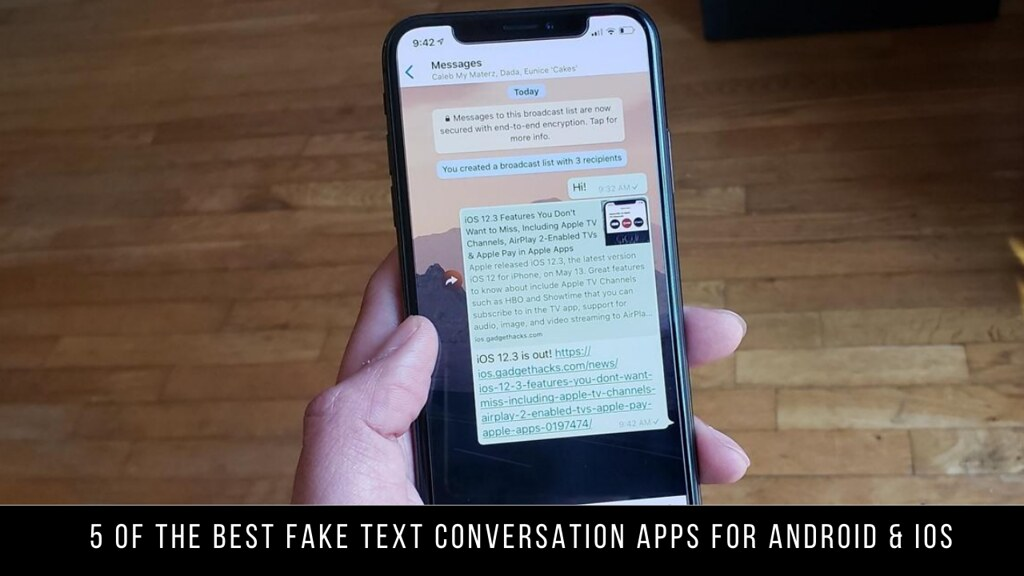 5 Of The Best Fake Text Conversation Apps For Android & iOS