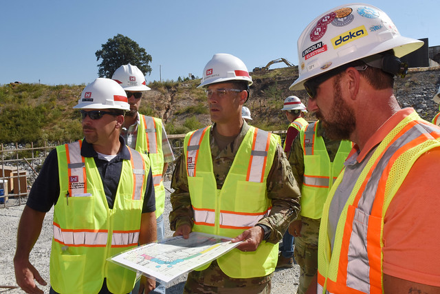 Division commander receives Nashville District mission, project overview