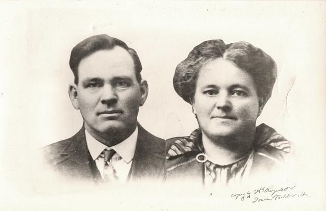 Homer Charles Lord and Clarissa A. Perry, circa 1915