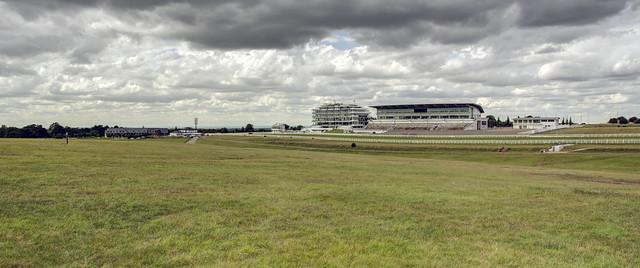 Epsom Downs Racecourse, August 2020