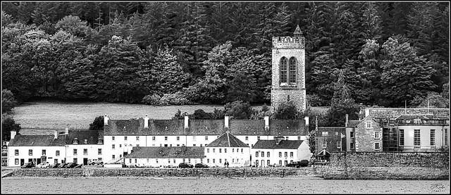 Inveraray Village, Loch Fyne, Scotland.