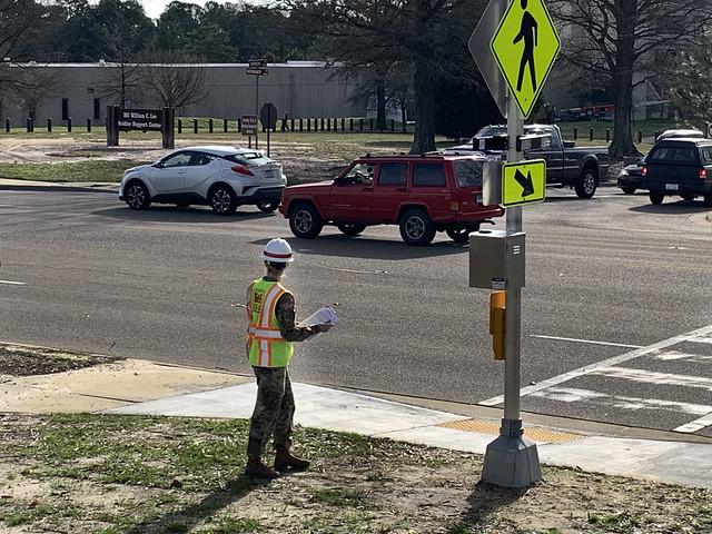 Ft Bragg Crosswalk Upgrade Status Check