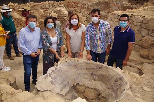 Visita al Yacimiento Arqueológico de Libisosa en Lezuza