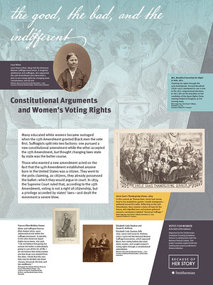 Constitutional Arguments and Women's Voting Rights