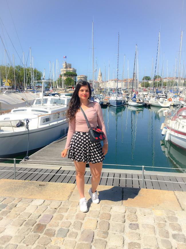 Look sur le port de La Rochelle