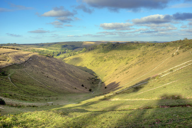 Devil's Dyke in the Evening, August 2020