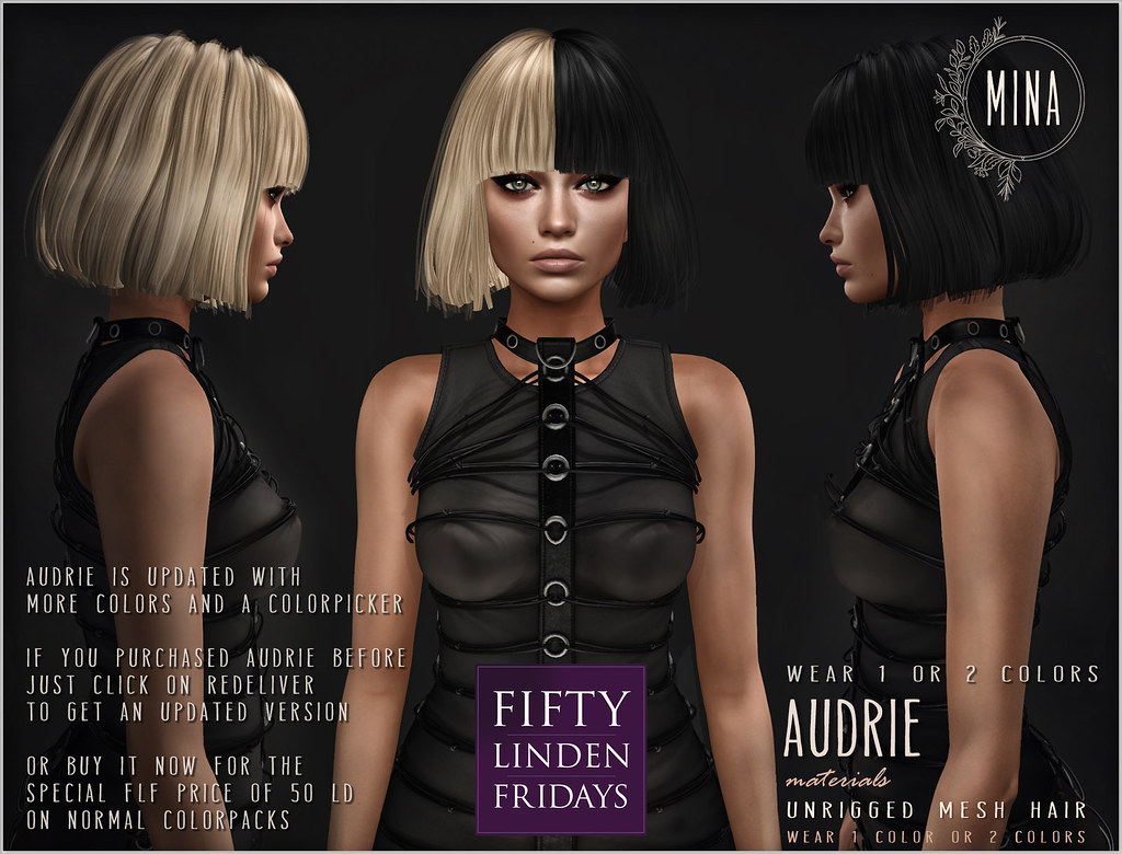 MINA Hair - Audrie - Fifty Linden Friday