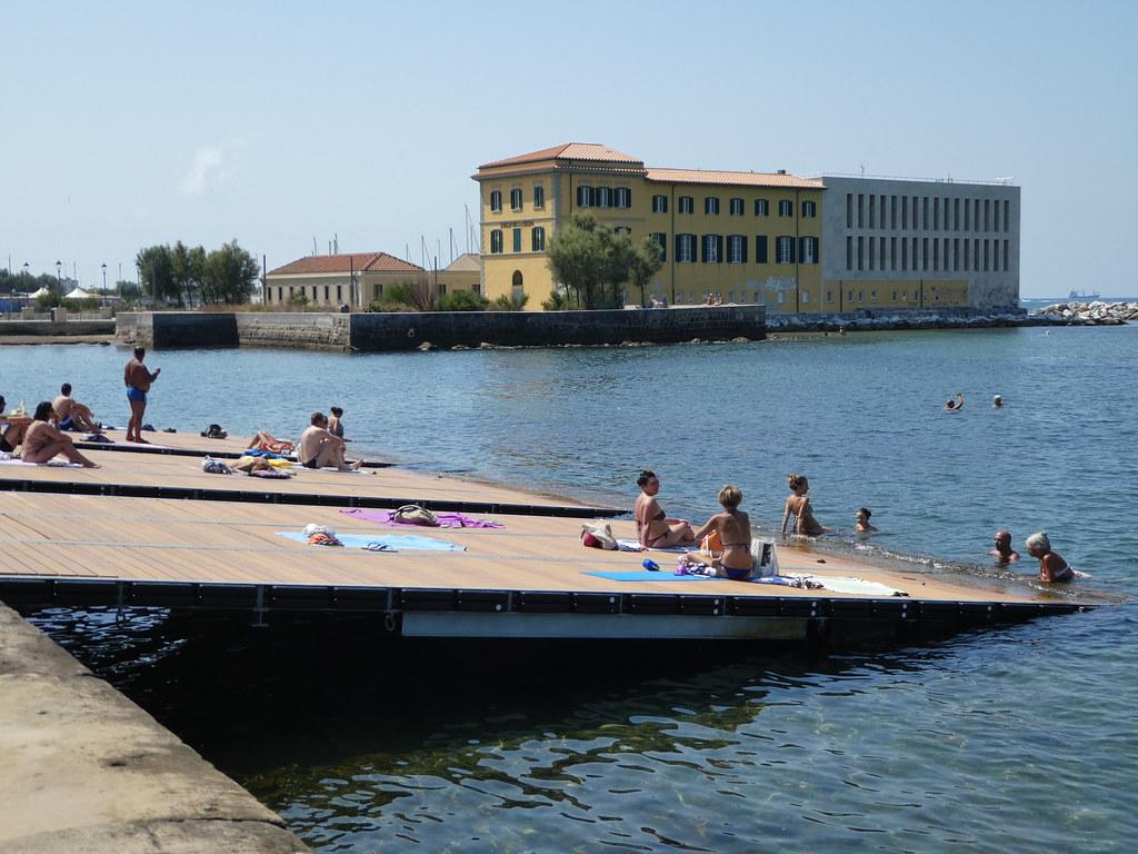 Livorno coast