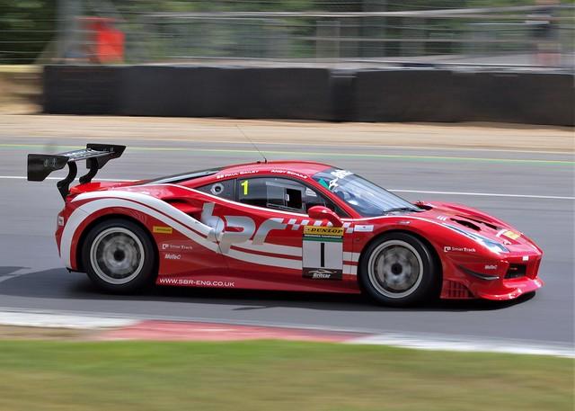 #1 Britcar Endurance Championship Ferrari 488 at Brands Hatch