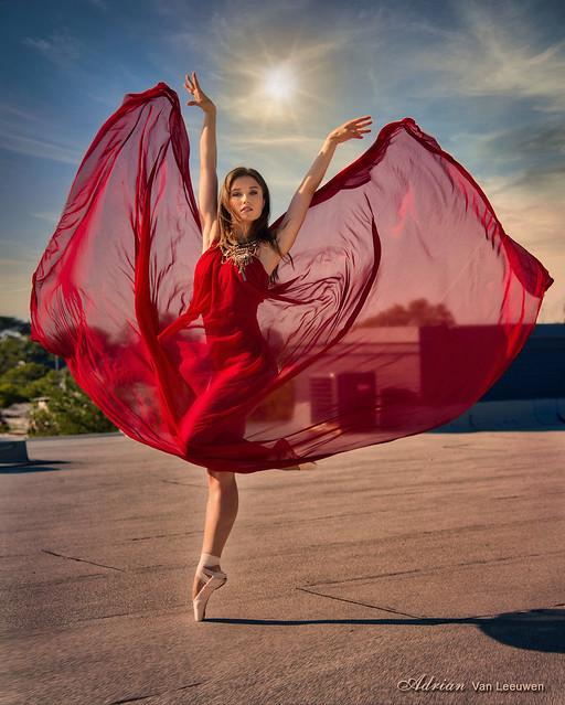 Sunset Ballerina with Julia Pochko
