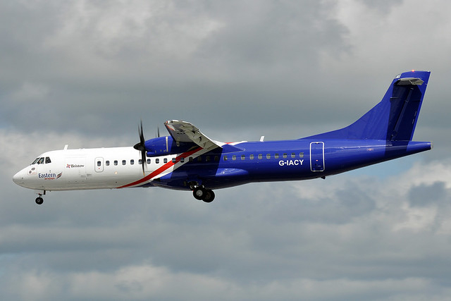 G-IACY  ATR72-212A  Eastern Airways